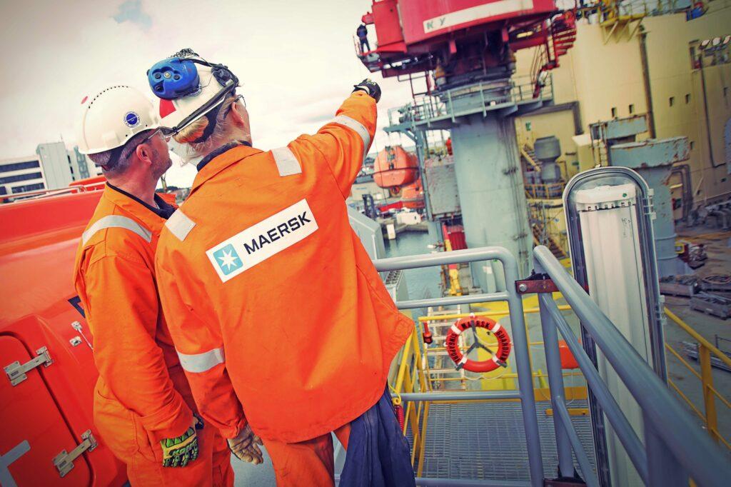 Fotograf i Nordjylland for Mærsk Drilling